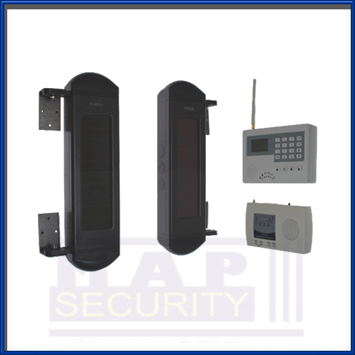 900m Solar Powered Wireless Perimeter Alarm Amp Gsm Auto