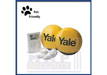 HSA6400 PET FRIENDLY KIT 2X LIVE SIREN YALE - HSA6400 PREMIUM PET FRIENDLY TELECOMMUNICATING ALARM KIT 2X LIVE SIRENS MAP
